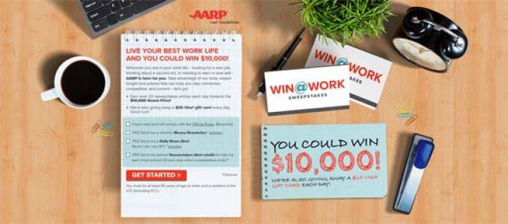 aarp 10000 cash