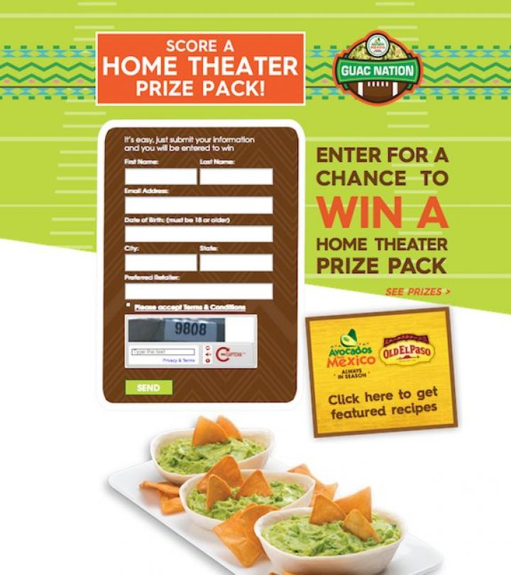 guac nation sweepstakes