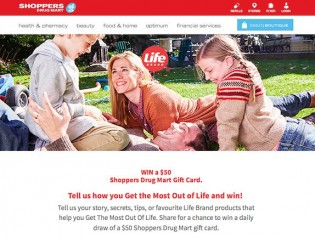 Life Brand Share A Life Story Contest