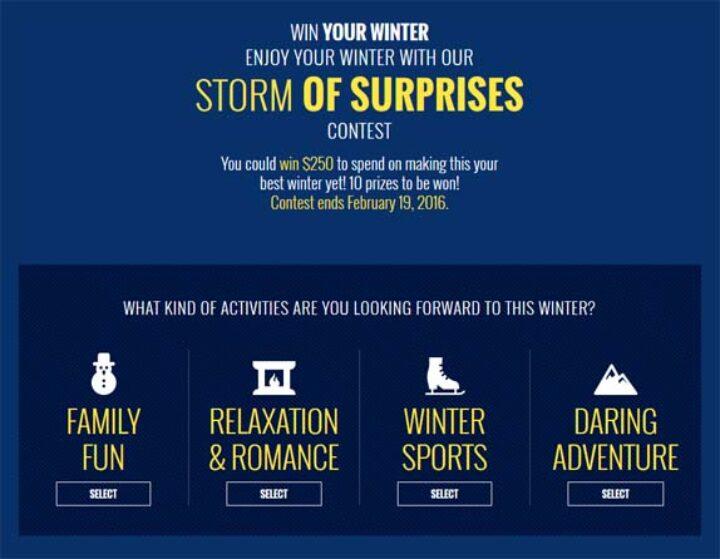 storm of surprises
