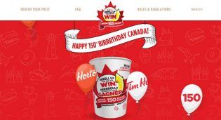 Tim Hortons RRROLL UP THE RIM TO WIN Contest