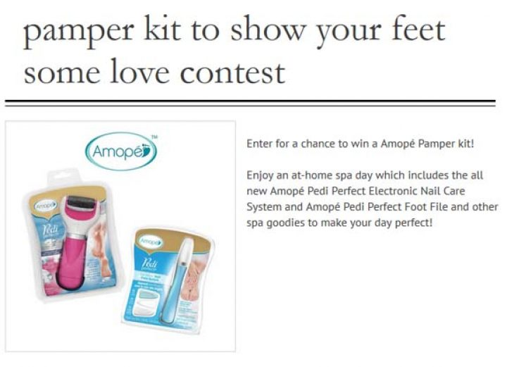 pamper kit to show your feet some love