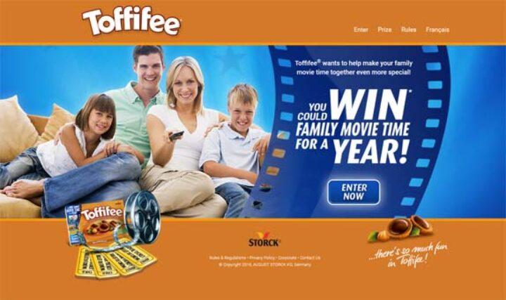 toffifee contest