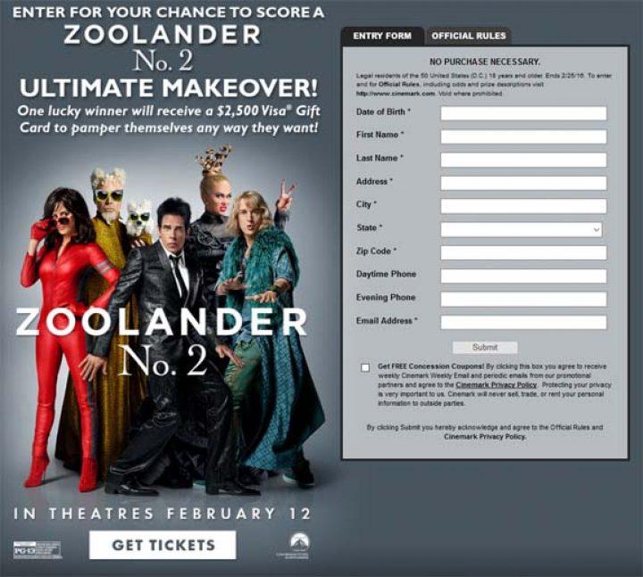 zoolander ultimate makeover