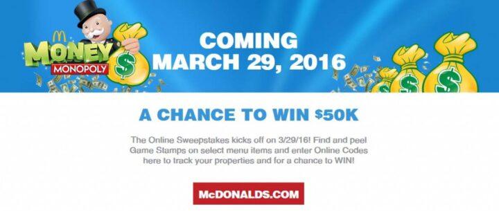 mcdonalds monopoly