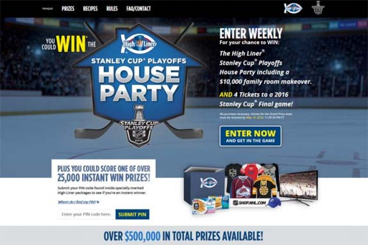 stanley cup house party