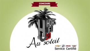 Concours RDS Hors-Jeu 2.0 au soleil