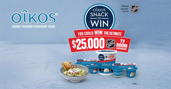 OIKOS Snack to Win Contest