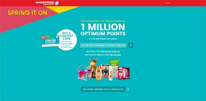 Shoppers Drug Mart Spring It On Contest
