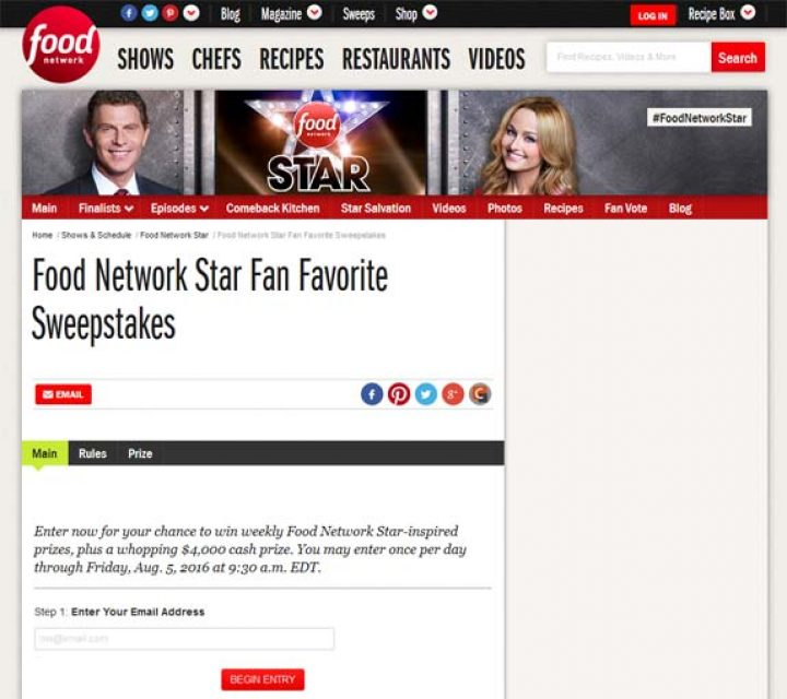 food network star fan favorite