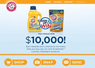 Arm & Hammer Clean Up & Win Contest