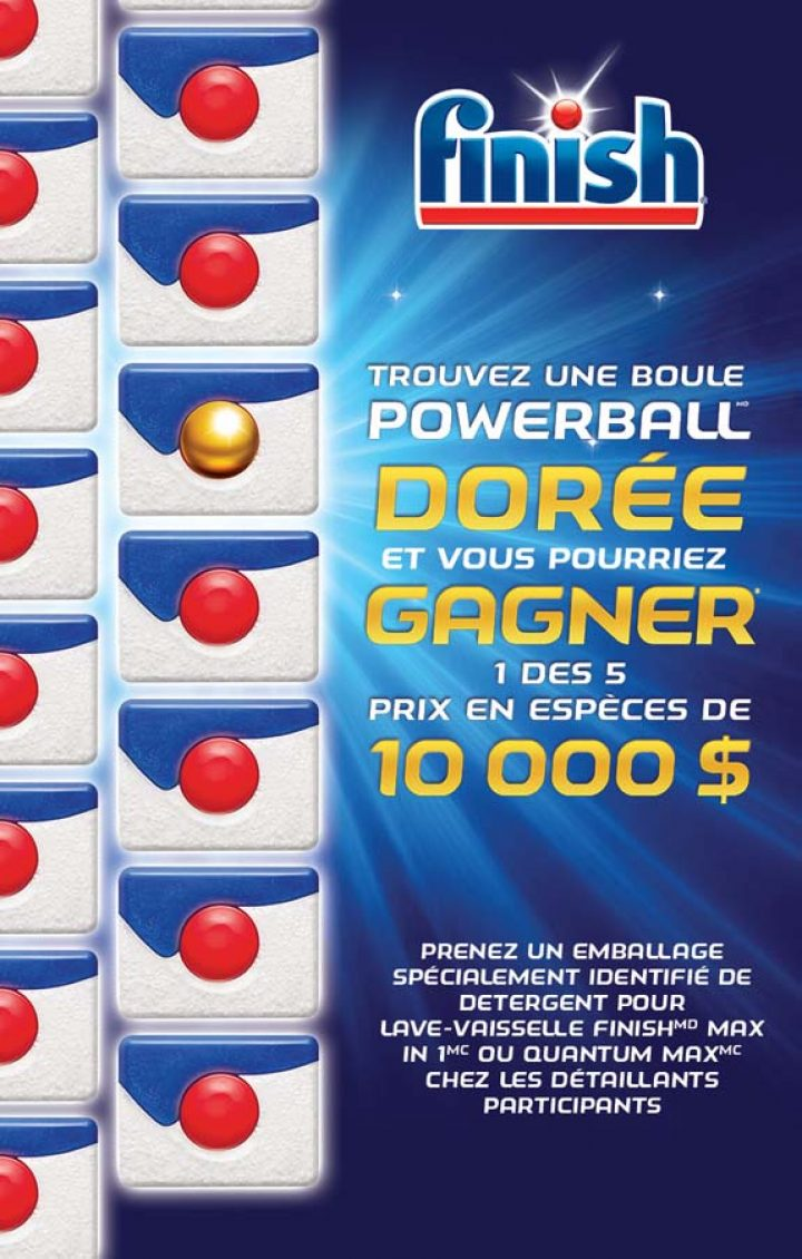 concours finish powerball doree