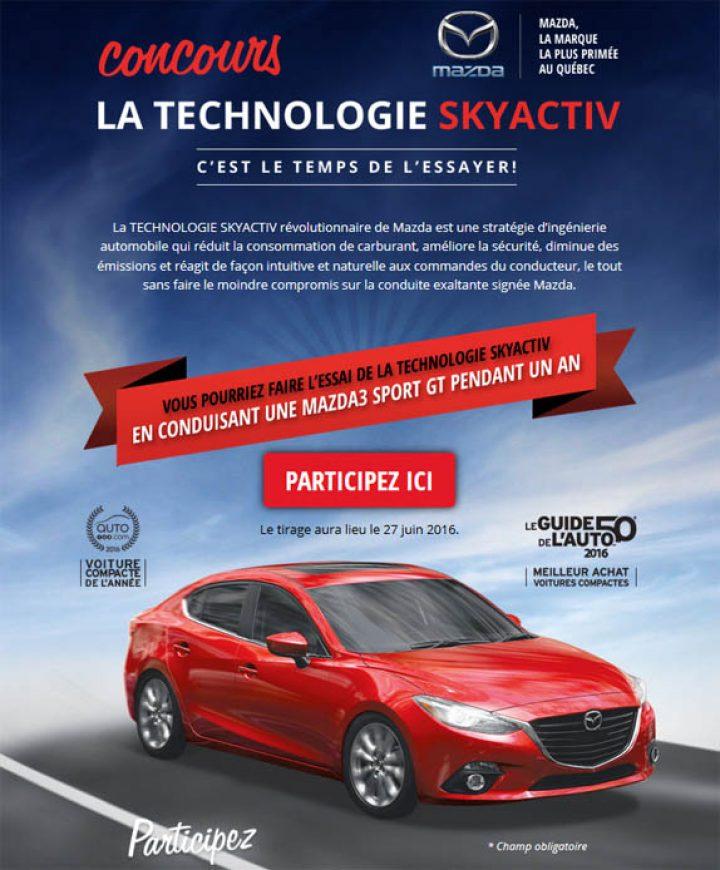 concours la technologie skyactiv