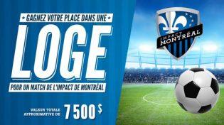 Concours IGA Gagnez votre place dans une loge pour un match de l'Impact de Montréal