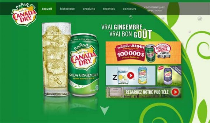 canada dry concours