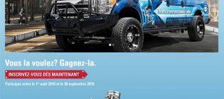 concours camionnette delo