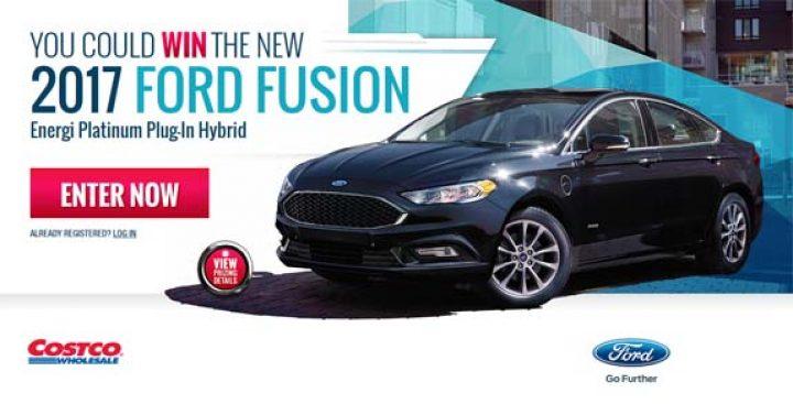 costco ford fusion contest