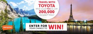 Travel with Toyota Contest