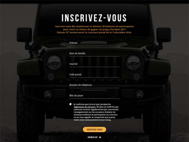 concours jeep