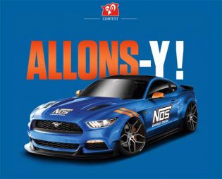 """Couche-Tard / NOS Energy Drink """"Fire Up"""" Sweepstakes"""