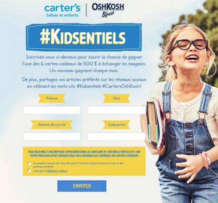 kidsentiels fr