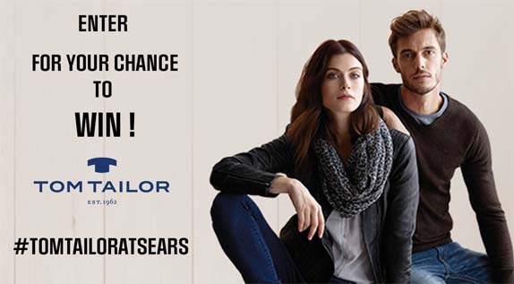 Sears Win a $2,000 TOM TAILOR Fashions Shopping Spree Contest