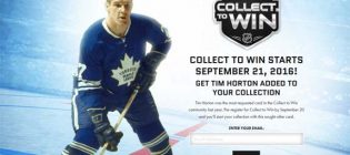 tim hortons collect to win