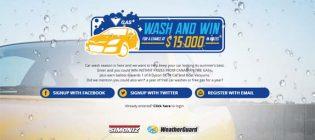 wash and win