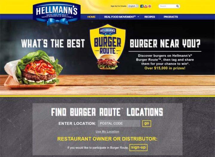 burger route contest