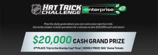 NHL Hat Trick Challenge Presented by Enterprise