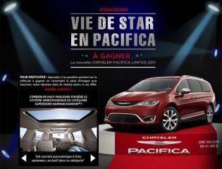 Concours TVA La voix junior Vie de Star en Pacifica