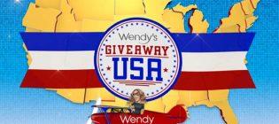 wendys giveaway usa