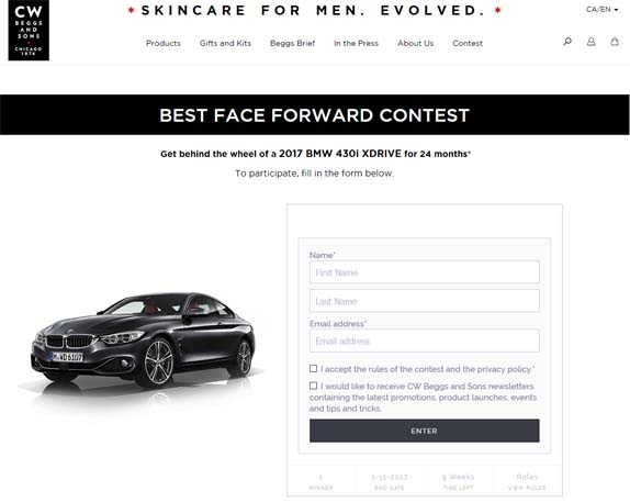 Groupe Marcelle Best Face Forward Contest