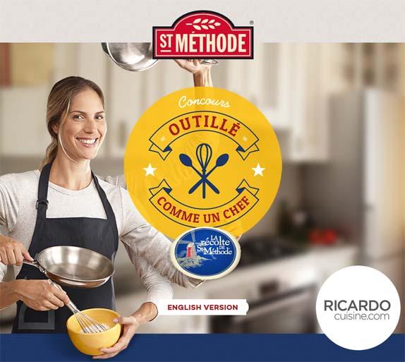 Concours Outillé comme un chef de Boulangerie St-Méthode