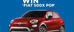fiat 500x contest