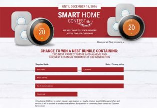 Contest Rona Get a smart home for Christmas with these amazing Nest products