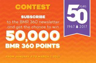 360 BMR Newsletter Contest