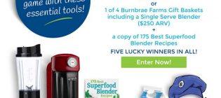 burnbrae farms contest
