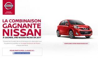 Concours La combinaison gagnante Nissan