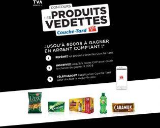 Concours TVA Les produits vedettes Couche-Tard