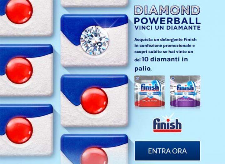 concorso finish diamond powerball