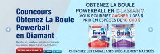 Concours Finish Obtenez la boule Powerball en diamant