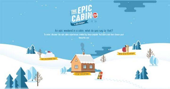 epic cabin contest