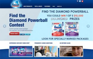 Finish Find the Diamond Powerball Contest