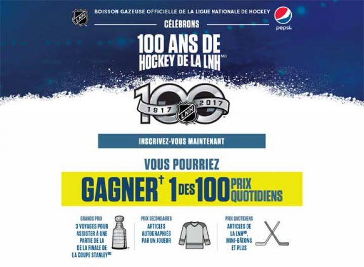 100 ans de la lnh