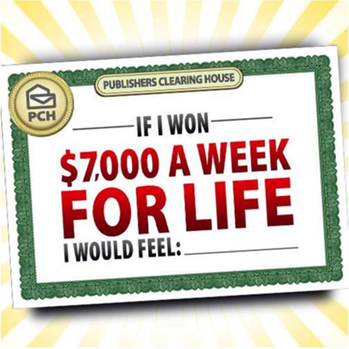 7000 a week