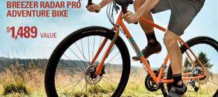 breezer radar pro adventure bike