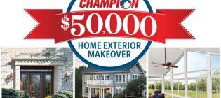 champion home exterior makeover