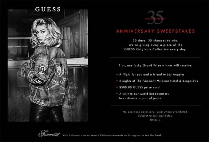 guess sweepstakes