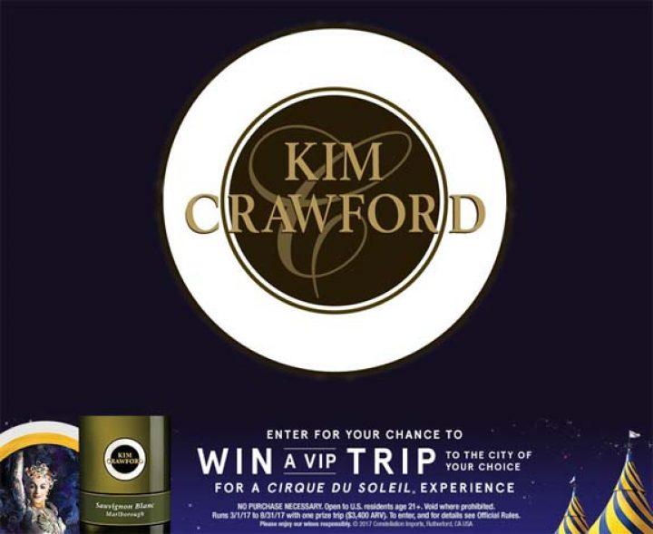 kim crawford circle du soleil contest